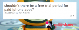 Free Trial for Paid iPhone Apps