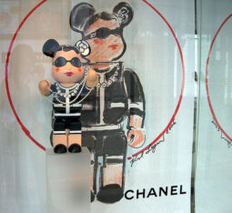 Bearbricks at Chanel