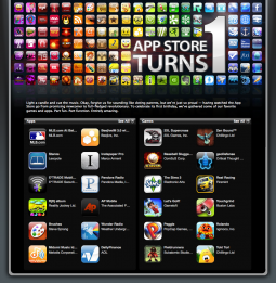 iTunes App Store Turns One