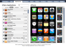 iTunes 9.0 App Management