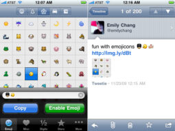 Emojicons for iPhone