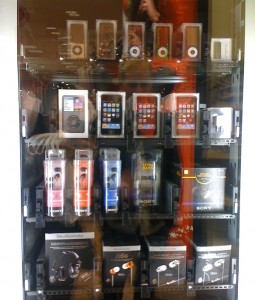 Buy an iPhone from a vending machine