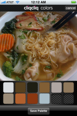 The Color Palette of Noodles