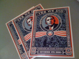 Obama Commemorative Sticker from MoveOn