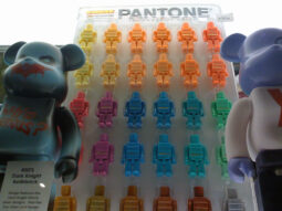 Pretty Pantone Kubricks at Double Punch