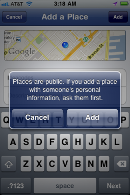 Facebook Joins Geo-location Services