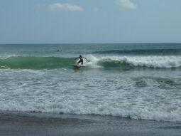 Surfing Legian, Bali 080210
