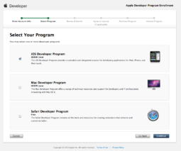 Enrolling in the Apple iOS Developer Program