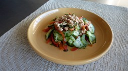 Thai Inspired Cucumber Salad