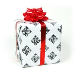QR Code Wrapping Paper