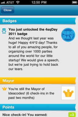 Happy 4sqDay