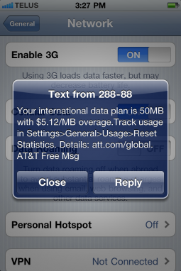 Ridiculous Data Plans