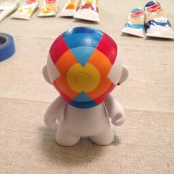 x munny blue layer