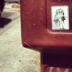 streetart stickerart