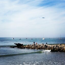 fly by in capitola!