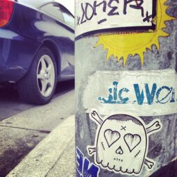 stickerart streetart