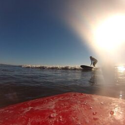 end of a wave yesterday