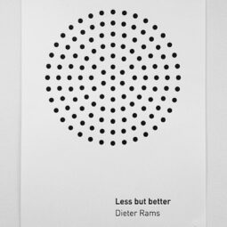 less but better - dieter rams (ht @missbrackets