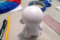 Superhero X Munny in Progress