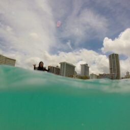 stoked in waikiki photo by @maxkiesler