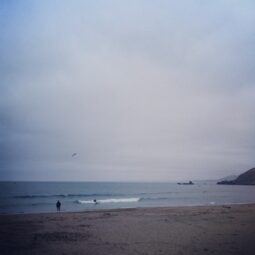 peaceful morning with just a couple of surfers and lots of birds.  rode two teeny waves