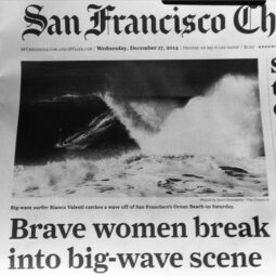 women big wave surfers keep charging @biancavalenti @savishaugh @kealakennelly @wickrx and finally getting some press!