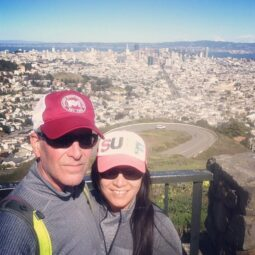 sunday walk from soma to twin peaks and back. 3hrs 40mins, 21,083 steps and 9.45 miles