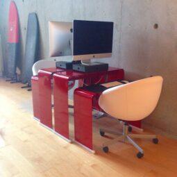 studio: @hecklerdesign + @ebert_surfboards + apple + fishstix