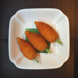 daikon puff. incredible artistry and taste
