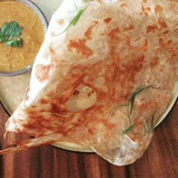 if i could only eat one thing, it might just be this platha and veg curry dip