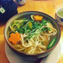vegan udon
