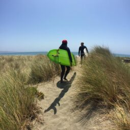 through the dune grass to the ocean. definitely one of my all-time favorite approaches to a beach with @maxkiesler