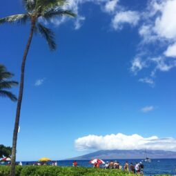 ka'anapali looking towards lanai
