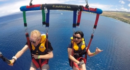 best view in the house - parasailing 1200 ft over ka'anapali @ufoparasail