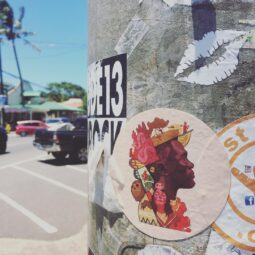 lots of good stickers in Paia