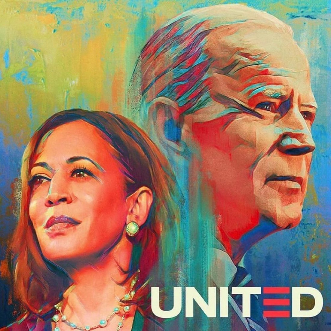 Words can barely express how I feel. @joebiden becoming President signals a return to ethics, morality, science, equality, civic duty, true democracy, and policies to benefit the people. He's worked 48 years to get here. @KamalaHarris becoming the first female, first South Asian, first Black VP, and a child of immigrants, is so personally gratifying. This is America, people!